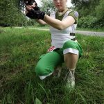 Rebecca Chambers ready for action! Cosplay by Rejiclad