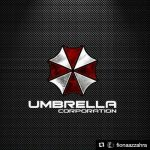 Umbrella Corporation Logo on Instagram